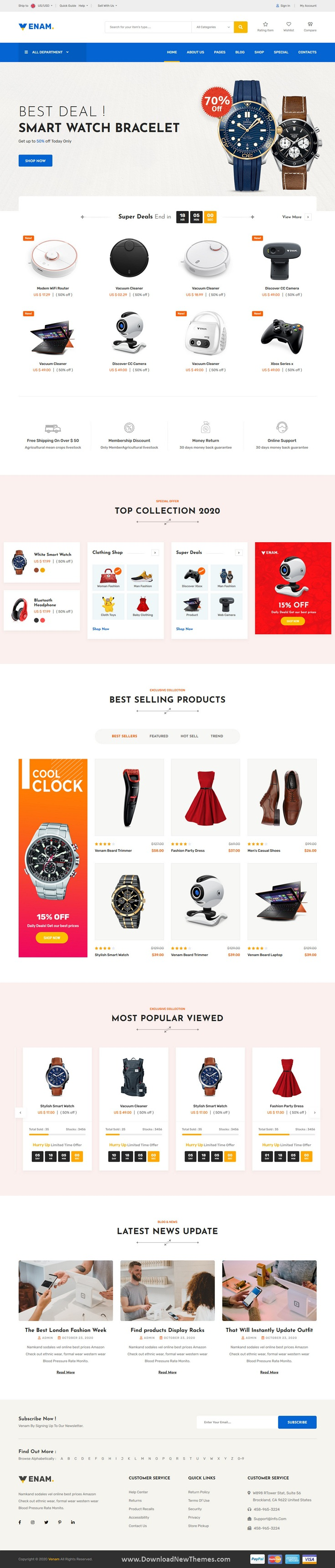 eCommerce HTML5 Template