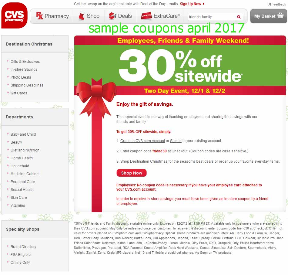 Pharmacy discount coupon