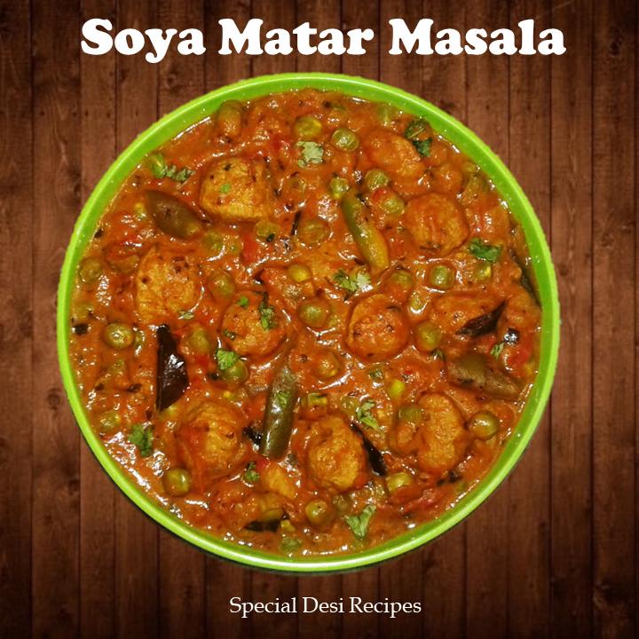 Soya Matar Masala Specialdesirecipes