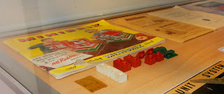 Ballast/Mineral Wagon; Bayko; Big Train; Binns Road; Christmas Exhibition; Exhibition Of Construction Toys; Fleet Library; G-gauge; Green/Red Meccano; Low Display Table; Massey Ferguson; Masterbuilder; Meccano; Minibrix; Ministry of Education; Morris Minor; Passenger Coach; Primus Engineering; RAF roundel; Science Museum; Small Scale World; smallscaleworld.blogspot.com; Trix catalogue; Vulcanised Rubber;