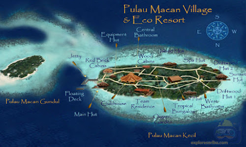 pulau macan village dan eco resort