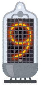 ニキシー管のイラスト(9)