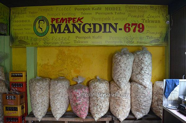 Palembang Mangdin Krupuk