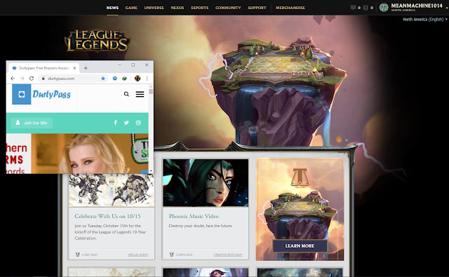 League of Legends hacked ultimate power accounts