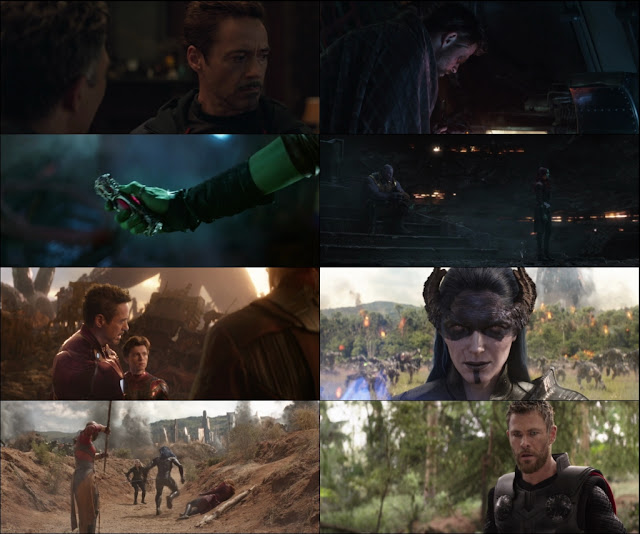 Avengers: Infinity War 2018 Dual Audio ORG 1080p Bluray