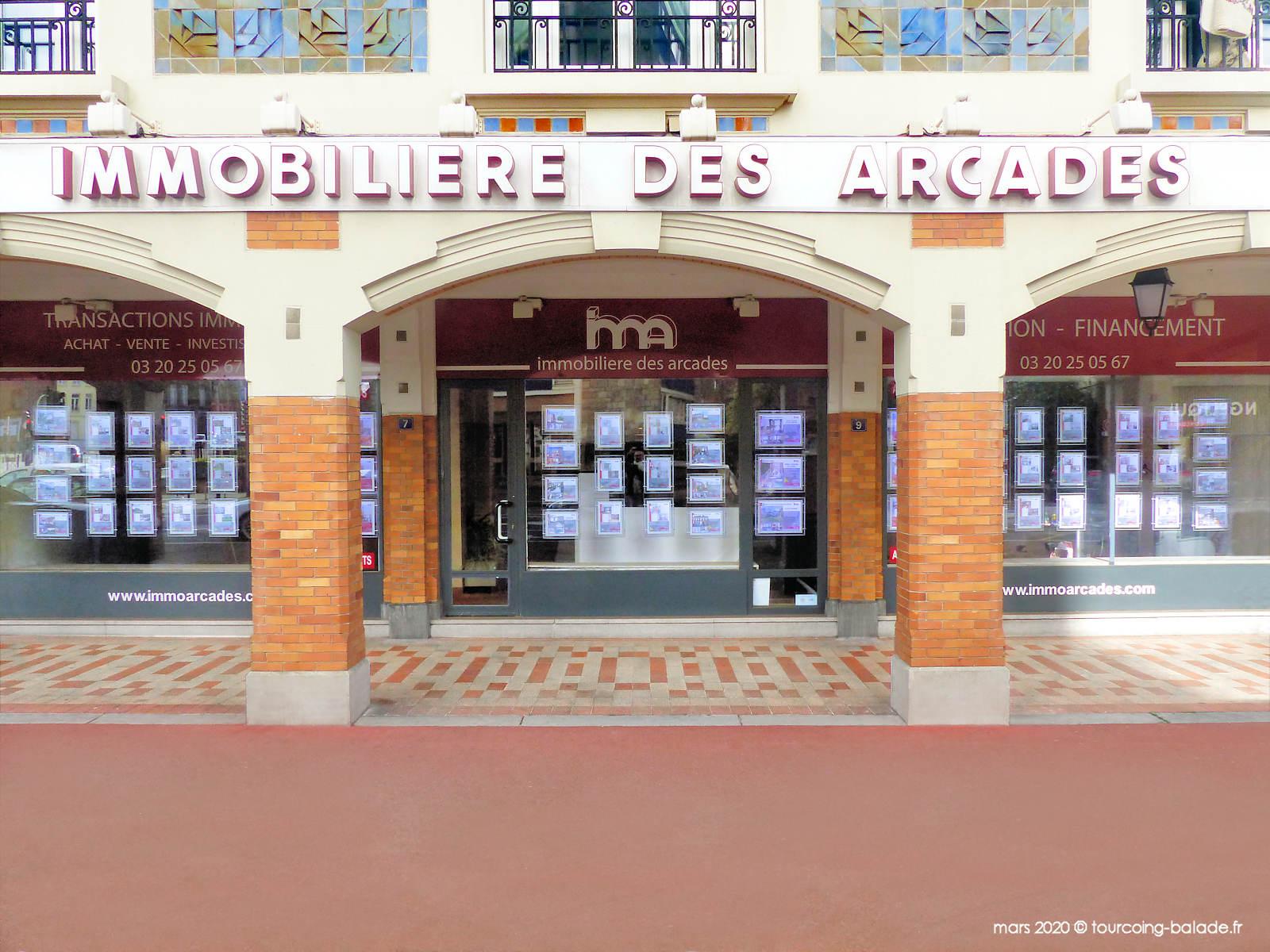Immobilière des Arcades, Tourcoing.