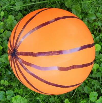 Lines of Longitude on a Balloon Globe