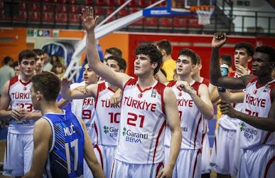FIBA U16 Europe - Türkiye çeyrek finalde