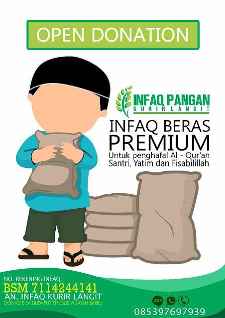 Infaq Beras Premium