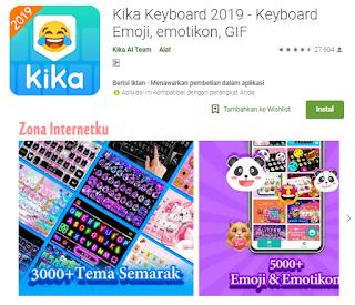 Kika Keyboard - Keyboard Emoji, emotikon, GIF