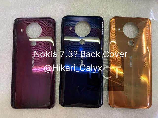 Nokia 5.4 Leaked Back Panels