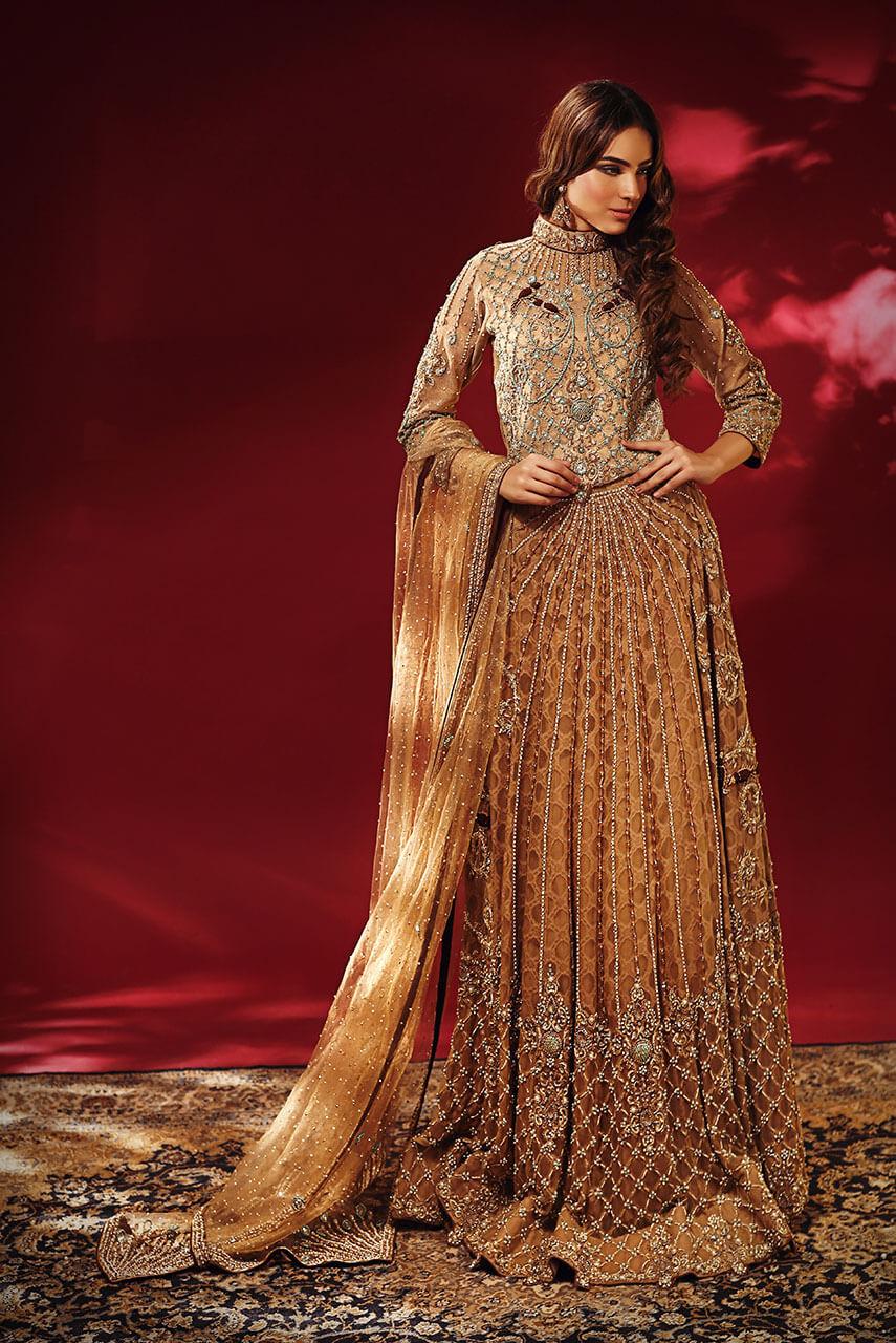 Faraz Abid Sheikhu featuring BABUL traditional collection of Pakistani bridal Barat dresses