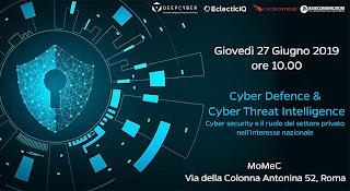 Cyber Defence & Cyber Threat Intelligence