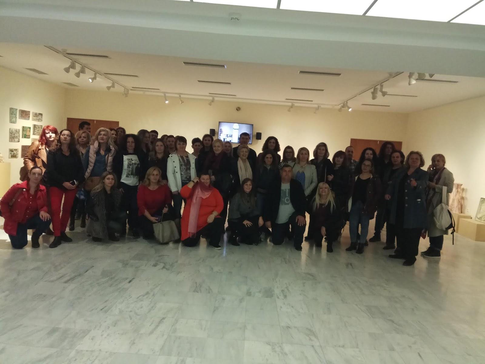 Επίσκεψη του 3ου Εσπερινού ΕΠΑΛ Λάρισας στο Διαχρονικό Μουσείο