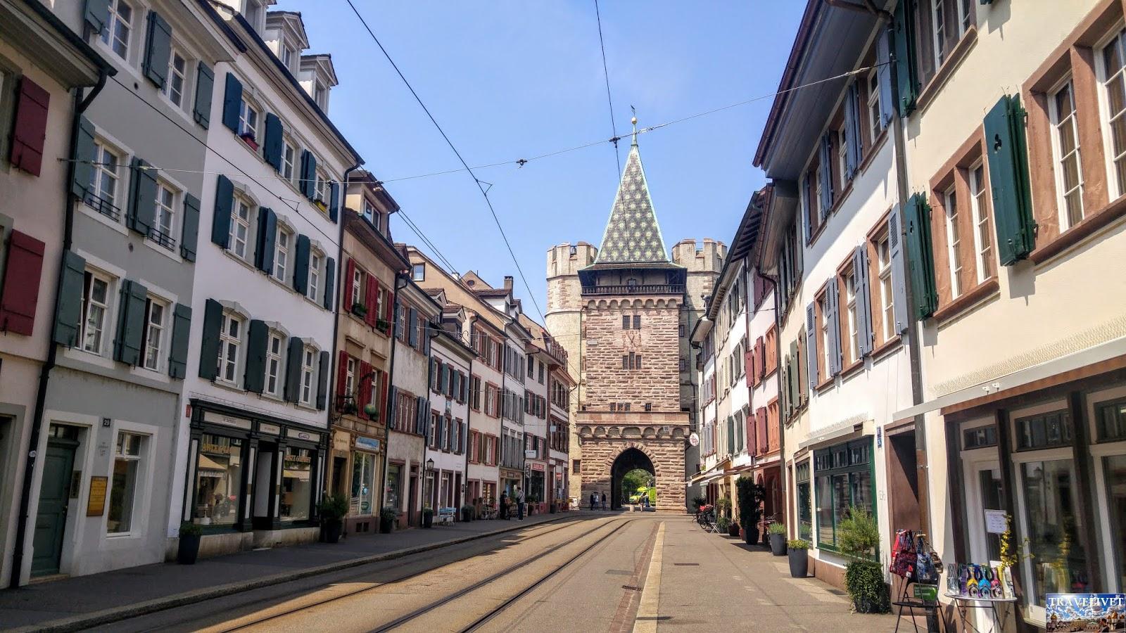 Bâle Basel Suisse porte
