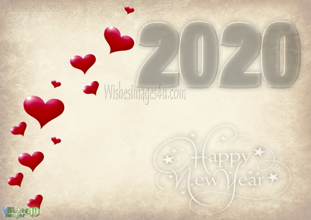 Happy new year love wallpapers 2020