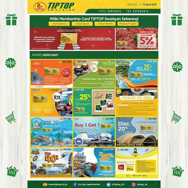 #TipTop - #Promo #Katalog 2 Mingguan Periode 01 - 15 April 2019
