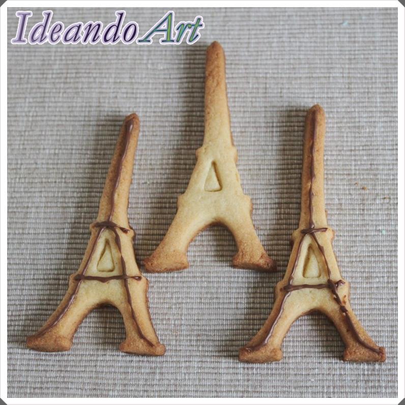Galletas Torre Eiffel