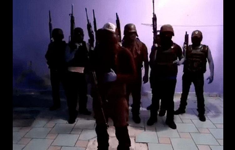 "VIDEO: Operativo Zeta Vieja Escuela manda mensaje a los 35Z, ""Ya empezó la limpia, puro Operativo Zeta""."