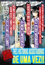 Scary Ghost Stories Manga