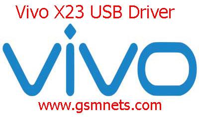 Vivo X23 USB Driver Download