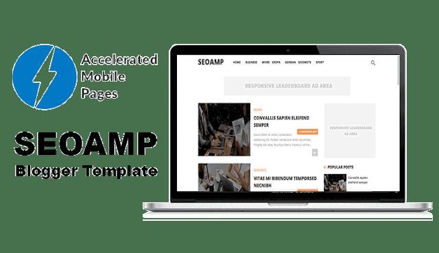 SEOAMP template blogger