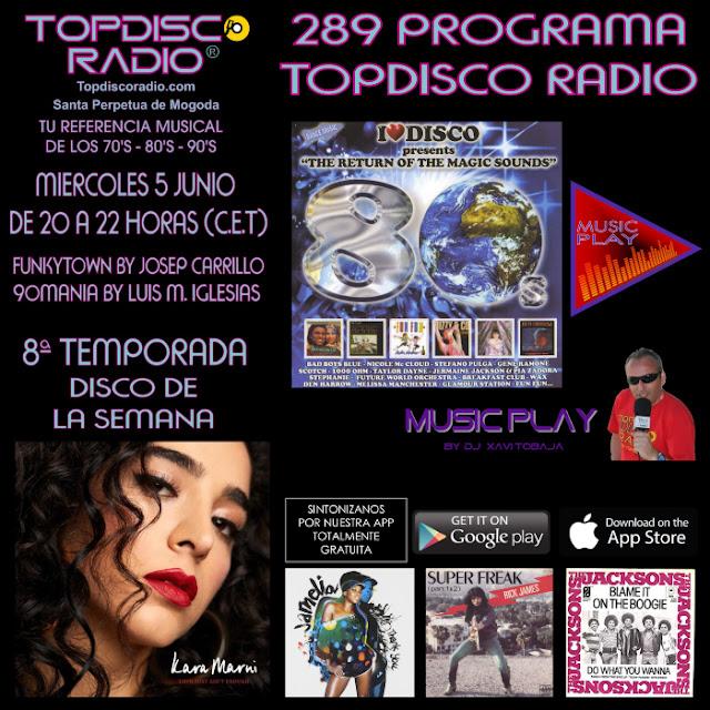 289 Programa Topdisco Radio