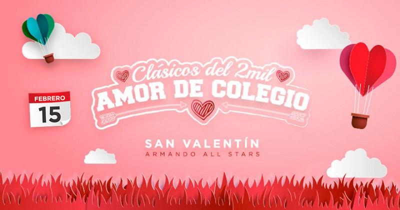 Fiesta Amor de Colegio San Valentin 2018