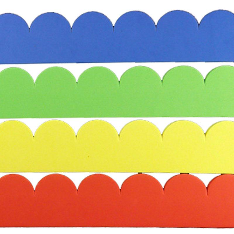圍邊牆貼裝飾 (4款4色選)