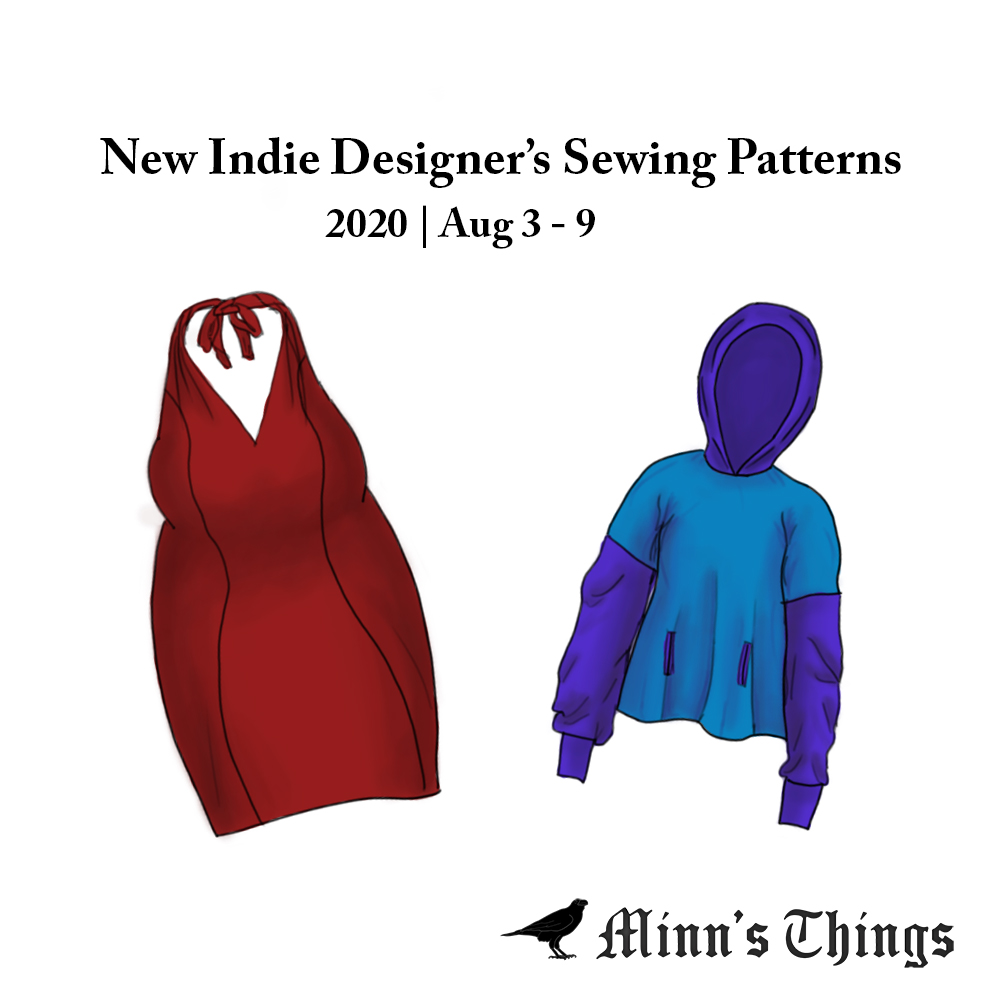 New Indie Designer Sewing Patterns Updates Releases 2020 August Summer Inspiration