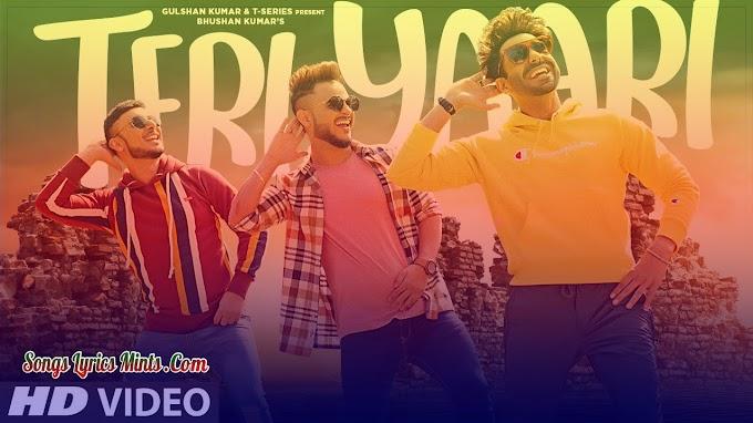 Teri Yaari Lyrics In Hindi & English – Millind Gaba, Aparshakti Khurana, King Kaazi | Latest Hindi Song Lyrics 2020