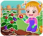 Game bé tập làm vườn.