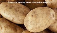 Pomme de terre augmente votre plaisir sexuel