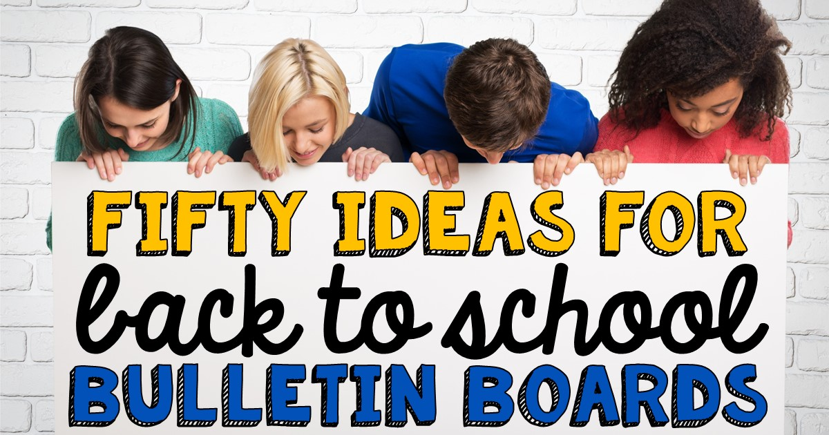 The great thing about bulletin boards is you can use them to welcome students in school common areas, grade level hallways, or inside your classroom. We hope things examples will give you some inspiration.