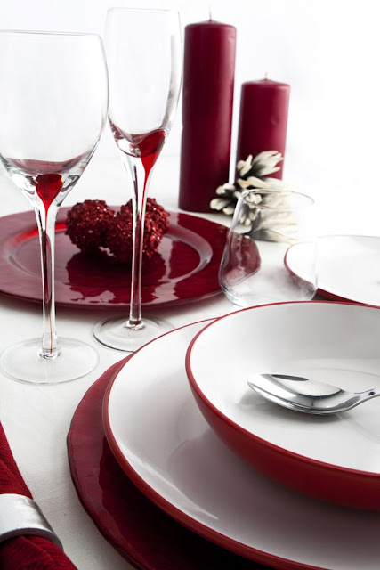 Red Dinnerware 2