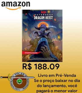Pré-Venda Waterdeep: Dragon Heist