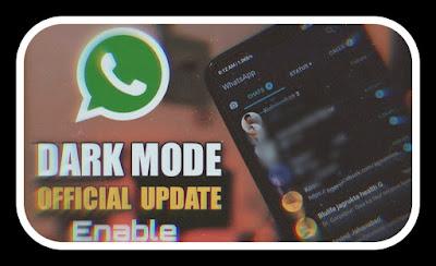 كيفية تمكين الوضع المظلم في Whatsapp