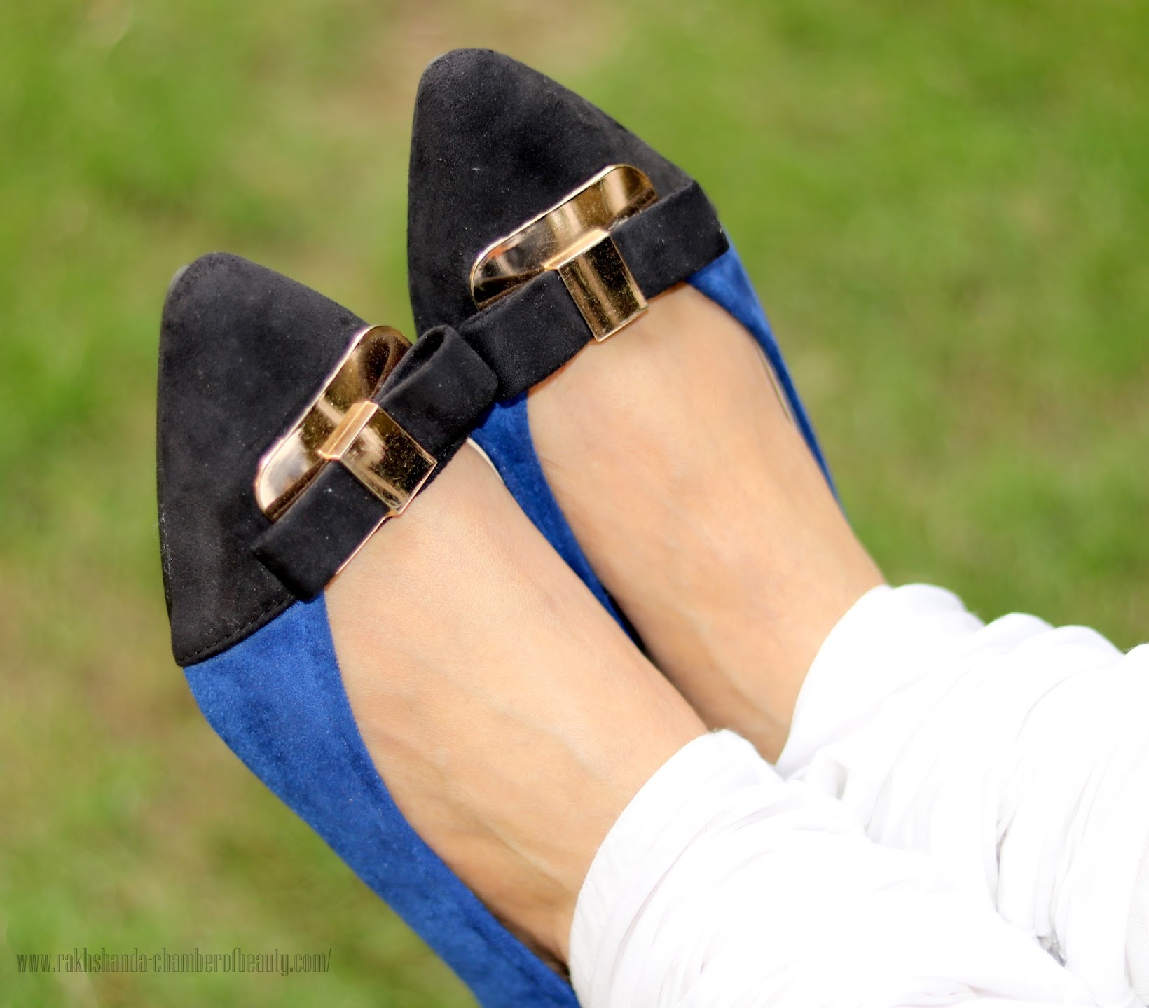 Suede flats from Styletag.com, Indian fashion blogger, Chamber of Beauty