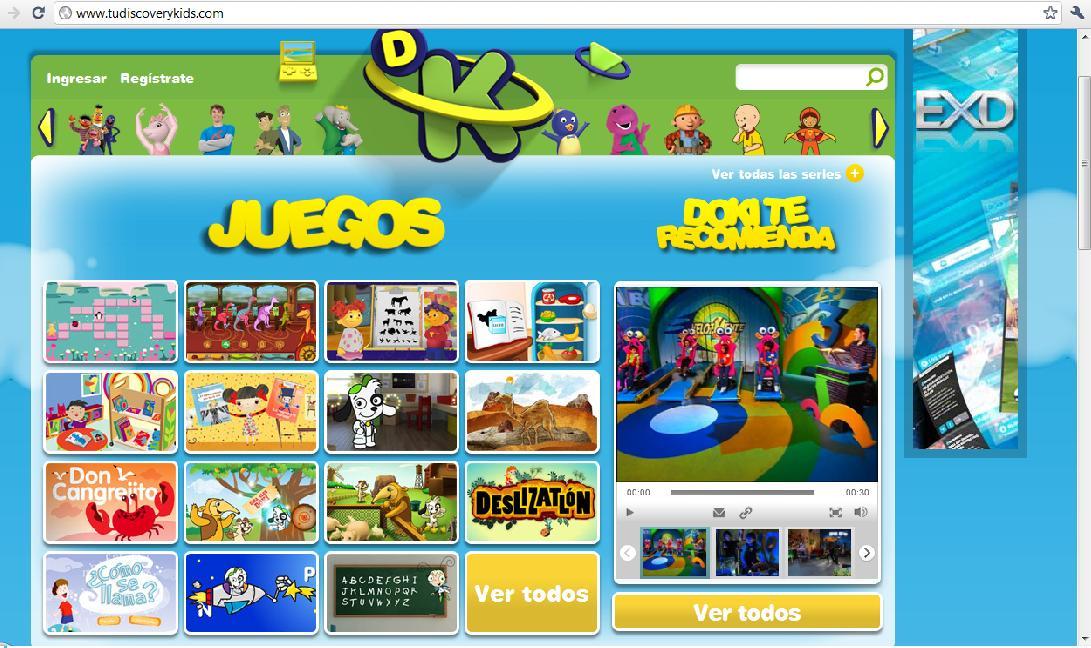 Tu Discovery Kids Diseno Y Publicidad En Tudiscoverykids Com