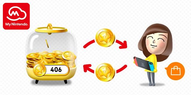 Nintendo permitirá cambiar tus puntos de oro por dinero
