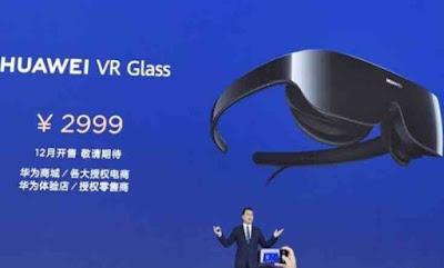 Huawei Luncurkan Teknologi VR Baru Berbentuk Kacamata
