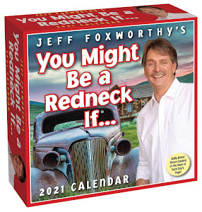 You Might Be A Redneck If.. 2021 Day-to-Day Calendar