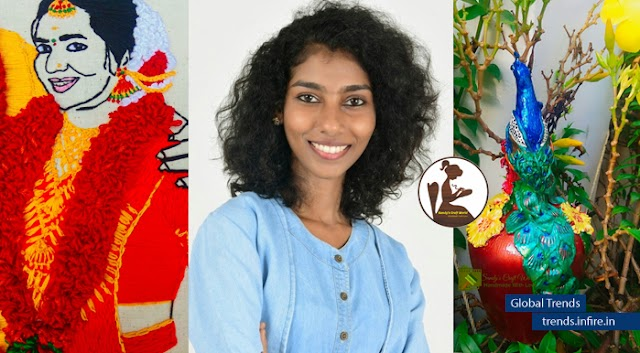 Sandhya sewing lives into fabrics; Lockdown possibilities of business