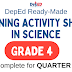 GRADE 4 - Learning Activity Sheets in SCIENCE (Complete Quarter 1) Free Download