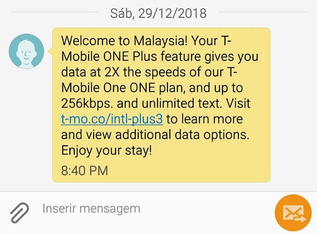 Chip de celular para usar internet na Malásia