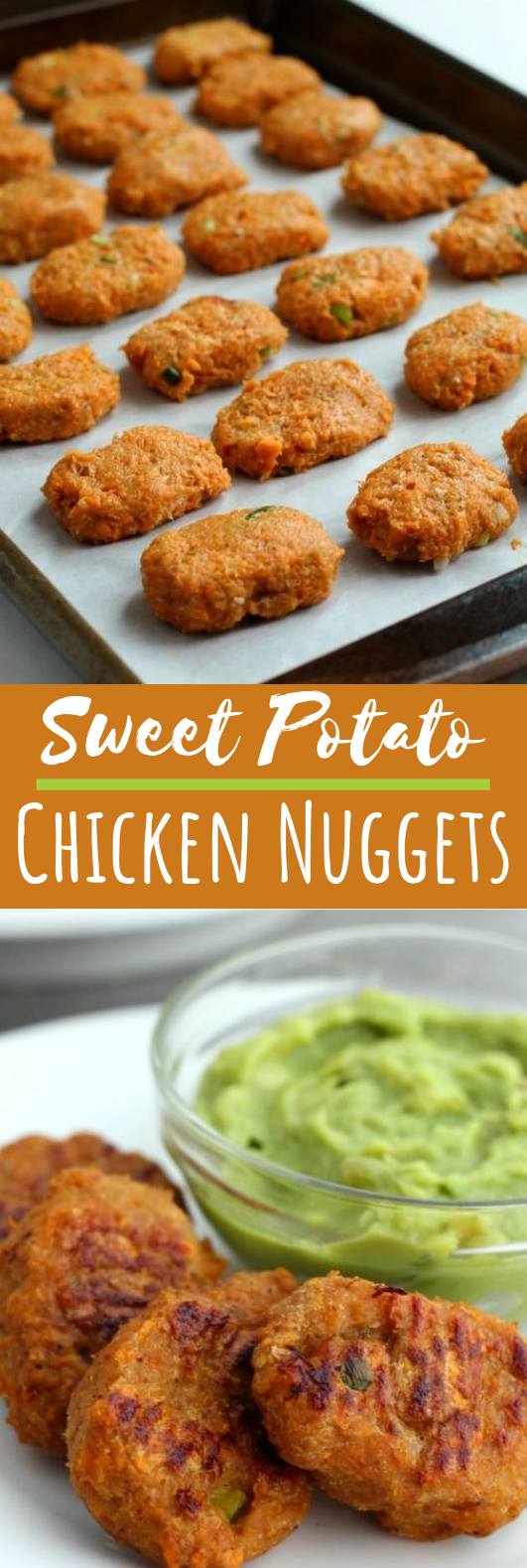 Sweet Potato Chicken Nuggets (Whole 30, Paleo) #healthy #chicken
