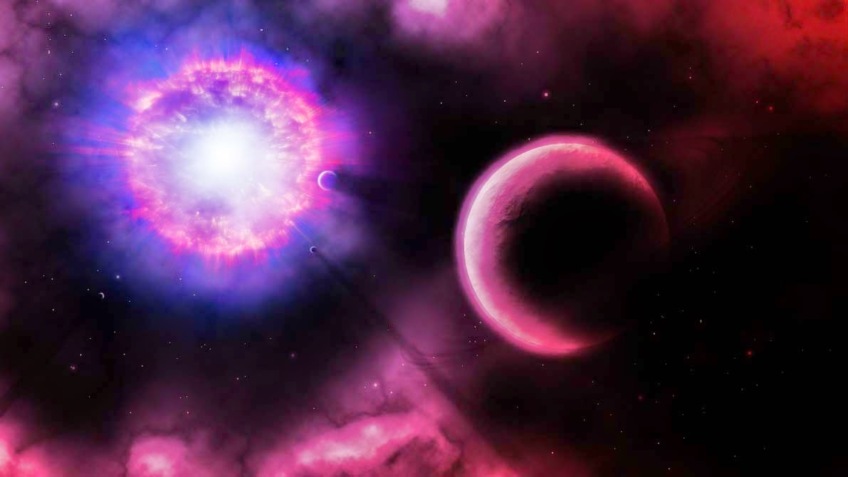 Supernova Explosion Wallpaper HD - Pics about space