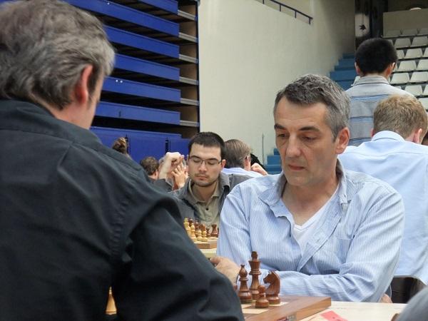 Le grand-maître d'échecs Olivier Renet