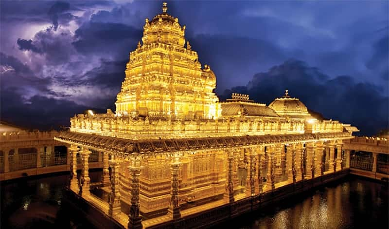 Top 12 Historical Wonders Of India That Everyone Should Visit Once   The Golden Temple, Sripuram