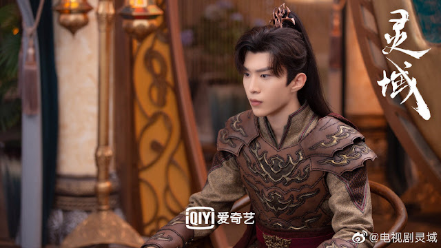[C-Drama]: First stills of Spirit Realm starring Fan Chengcheng and Cheng Xiao